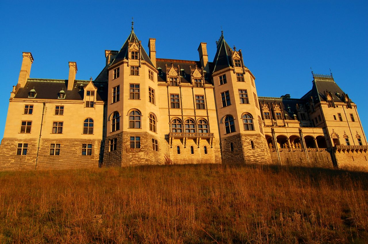 the back of the biltmore house | asheville, nc